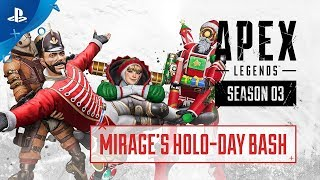 Apex Legends – Holo-Day Bash Event Trailer | PS4