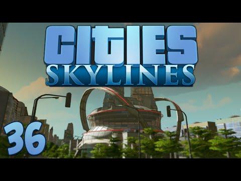 Cities Skylines 36 Hadron Collider