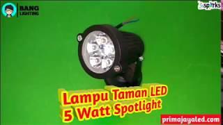 Lampu Taman Led 5 Watt Spotlight Prima Jaya Led