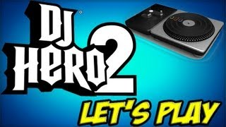 Playthrough Dj Hero 2 + Turntable