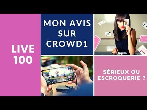 Mon Avis sur Crowd1 - Jeux en ligne et Gambling