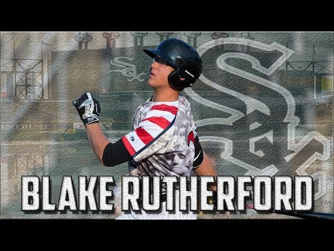 Blake Rutherford Highlights | Chicago White Sox OF Prospect