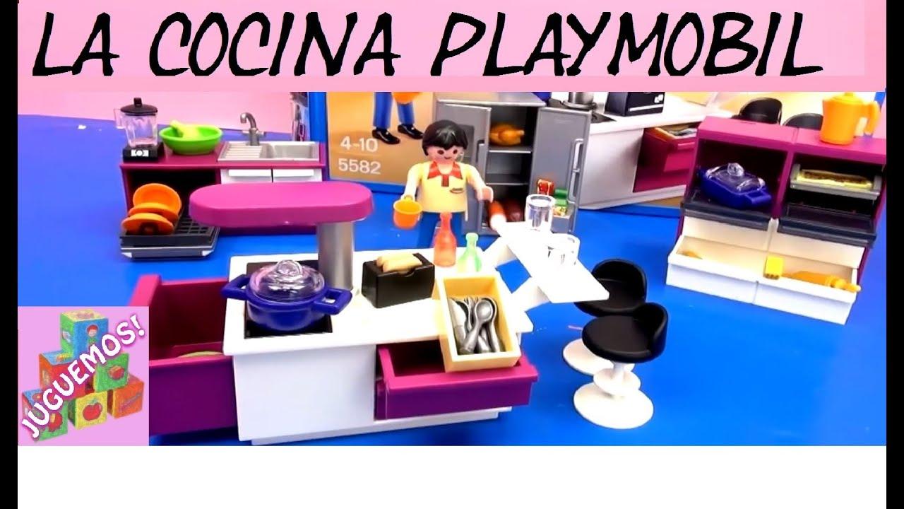 divi rtete con la cocina de playmobil en espa ol
