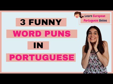 3 Funny Word Puns in European Portuguese - Learn European