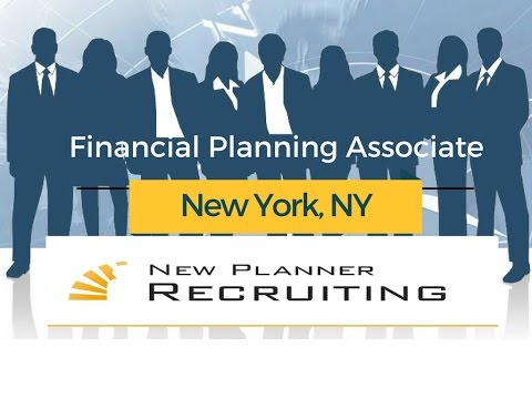 Financial Planning Opportunity   NYC