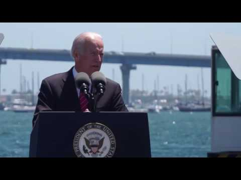 Vice President Joe Biden Visits the Port of San Diego's Tenth Avenue Marine Terminal