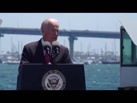 Vice President Joe Biden Visits the Port of San Diego's Tenth Avenue Marine Terminal