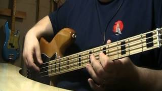 Paul McCartney & Wings Mull Of Kintyre Bass Cover