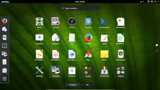 12   Fedora22 workstation apps Overview نظرة عامة عن التطبيقات