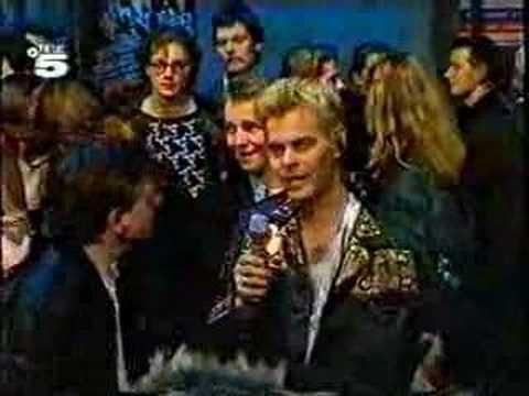 Mark E Smith German TV Interview 1989