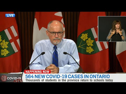 Dr. Moore questioned on how in-person learning will remain safe in Ont.   COVID-19 in Canada