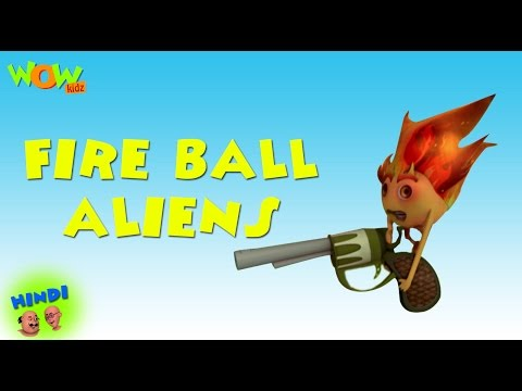 Fire Ball Aliens - Motu Patlu in Hindi WITH ENGLISH, SPANISH & FRENCH SUBTITLES thumbnail