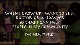 When I grow older I will be stronger (Afrika Tikkun Promotional DVD)