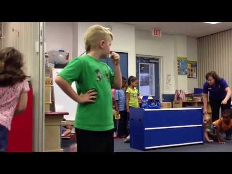 "Grace Community School program rehearsal: ""When the Circus Comes to Our Town"""