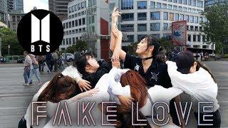 [KPOP DANCE IN PUBLIC] BTS (방탄소년단) 'FAKE LOVE' OneShot Dance Cover By Panwiberry