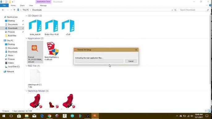how to upgrade firmware 3d20 site dremel.com
