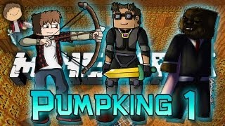 Minecraft: Pumpking Adventure Map w/Mitch, Jerome & Adam! Part 1