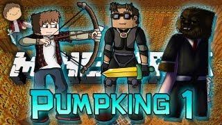 Minecraft: Pumpking Adventure Map w/Mitch, Jerome & Adam! Part 1