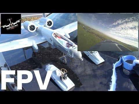 UMX A-10 FPV | Set Up And Flight