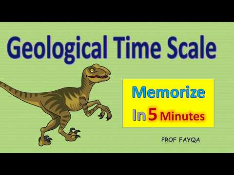 Geological Time Scale and Fossils l Memorize time scale chart in 5 minutes