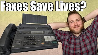 How A FAX MACHINE Saved a Human Life in 2019!