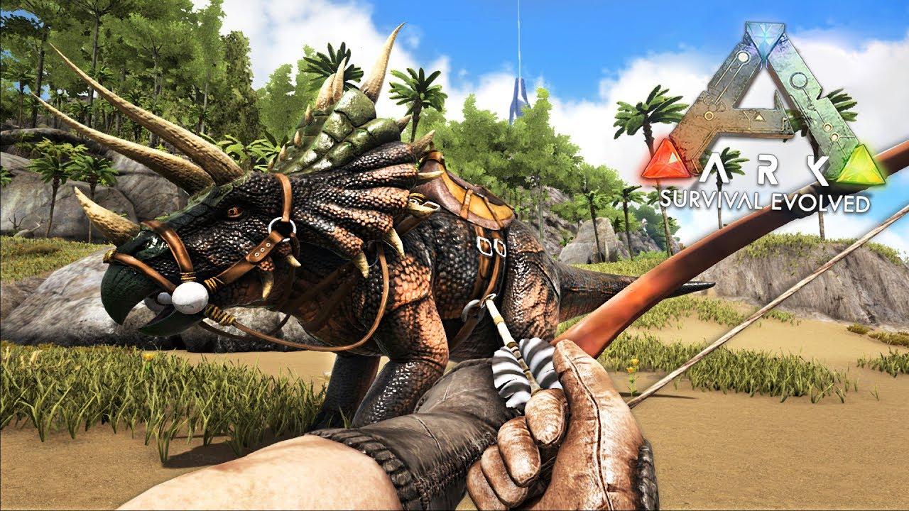 ARK: Survival Evolved - EXPLORING RAGNAROK!! (ARK Ragnarok Gameplay)