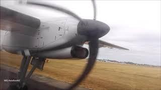 Jetstar Dash 8 Q300 Inflight Takeoff Palmerston North Airport