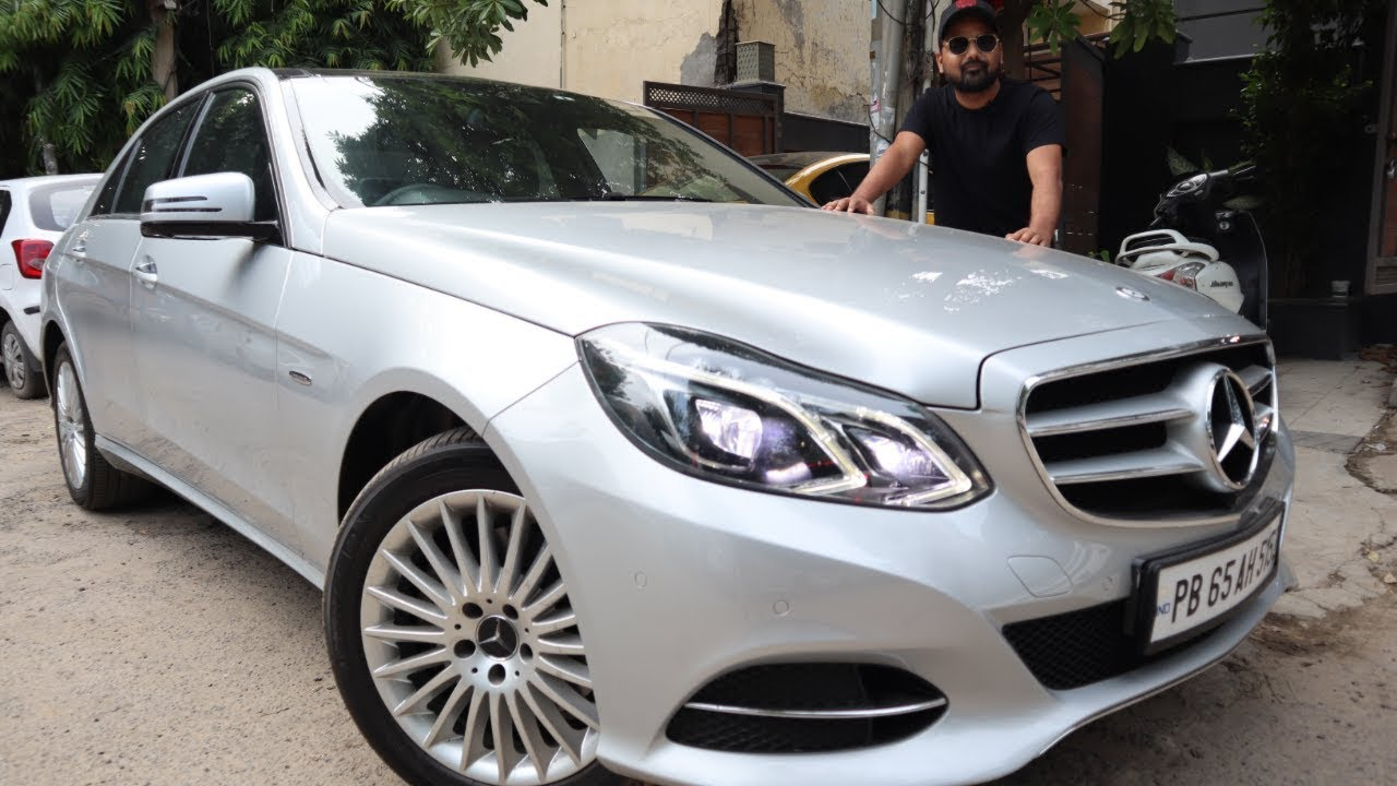 Mercedes E350 CDI For Sale | Preowned Luxury Cars In Delhi | My Country My Ride