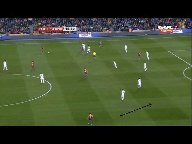 Guardiola   Barcelona   Lado fuerte Lado debil