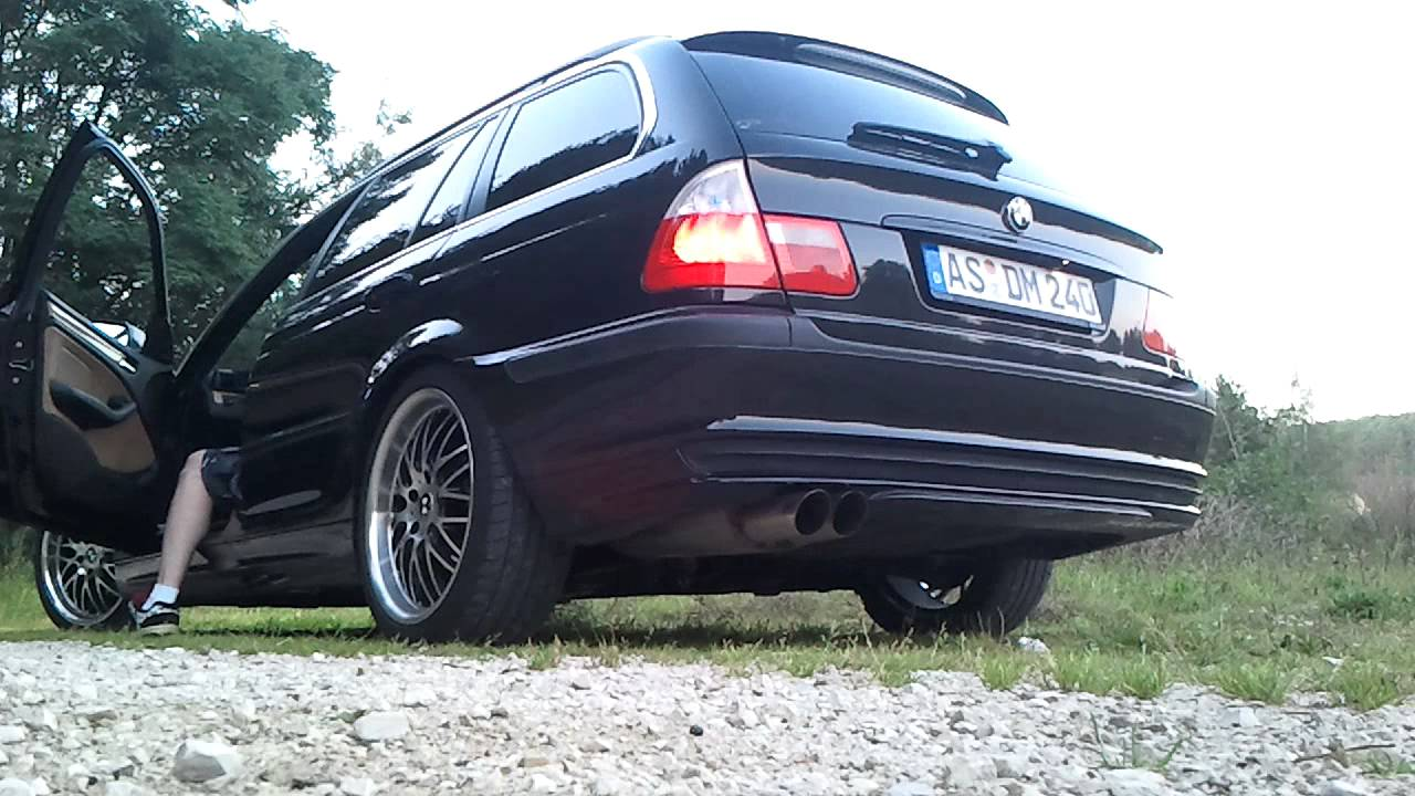 bmw e46 touring bastuck komplett sound i youtube. Black Bedroom Furniture Sets. Home Design Ideas