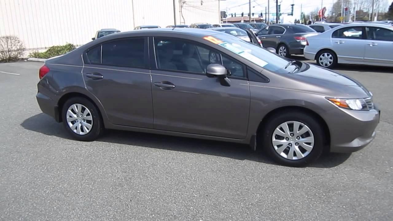 2012 Honda Civic Urban Titanium Metallic Stock 13094p