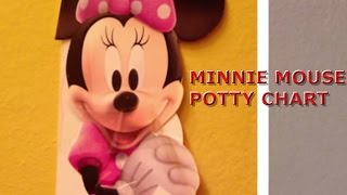 Minnie Mouse Potty Chart #1