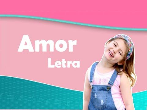 Amor (Letra) Dulce Maria- Carinha de Anjo