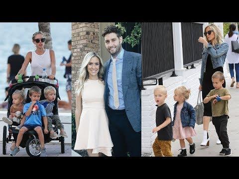 Kristin Cavallari's Family  2018 Husband Jay Cutler & Daughter Saylor James  Sons Camden & Jaxon