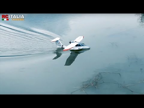E-flite ICON A5 CON TECNOLOGIA SAFE - flight Test