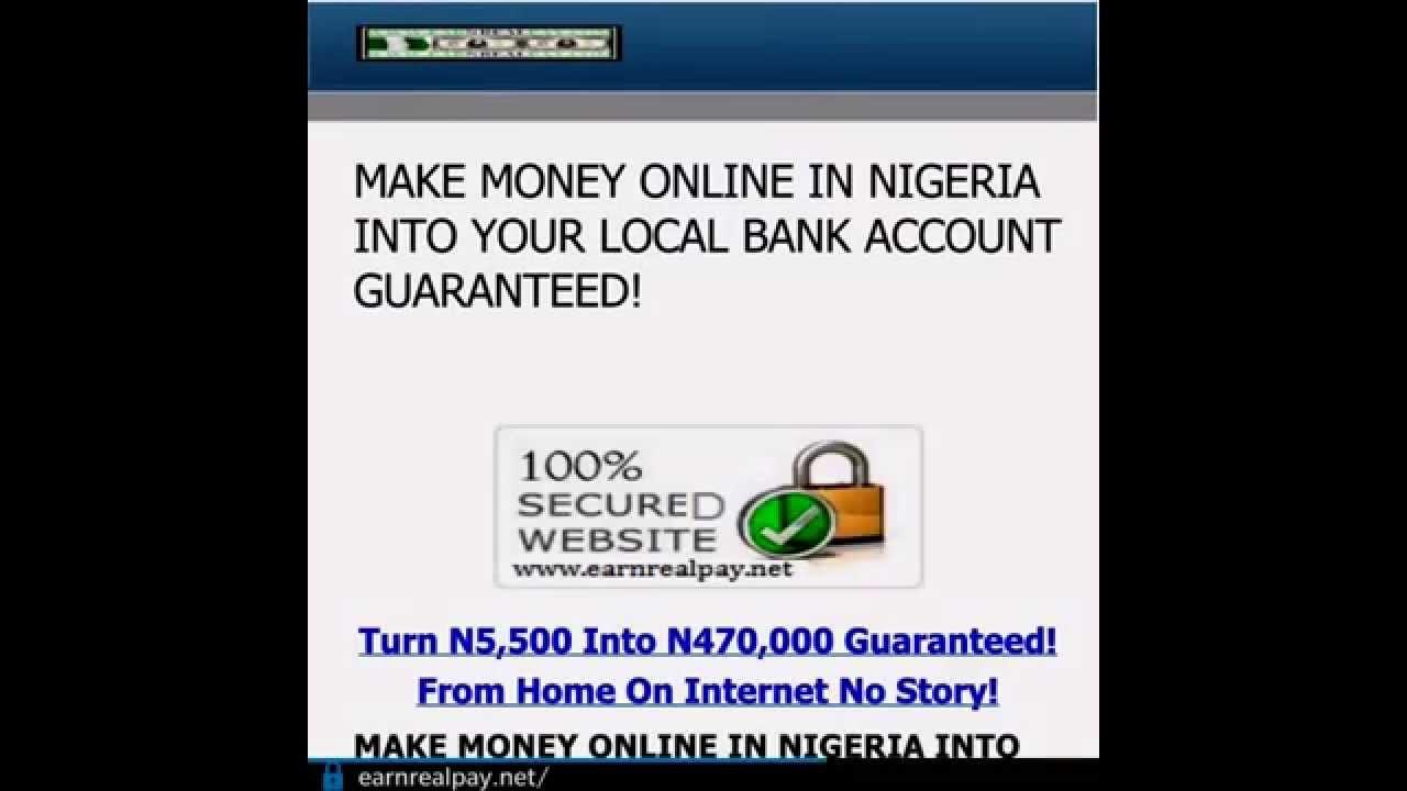 how to earn money online bank account