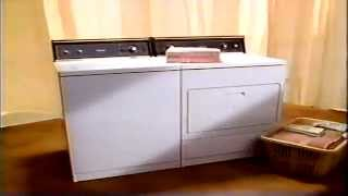 1990 Kenmore washer and dryer appliance commercial Thumbnail
