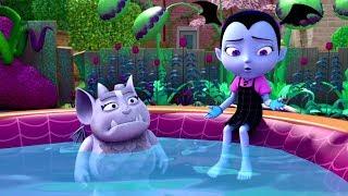 Vampirina en Español 💜Los Pelusinejos    Disney Junior Vampirina Capitulos thumbnail
