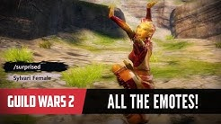Guild Wars 2 - All the Emotes!
