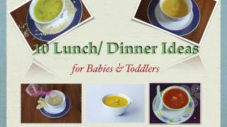 10 lunch dinner recipes for babies and toddlers   6 months 1 year   homemade baby food recipes