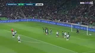 Nigeria vs Argentina goal. Com