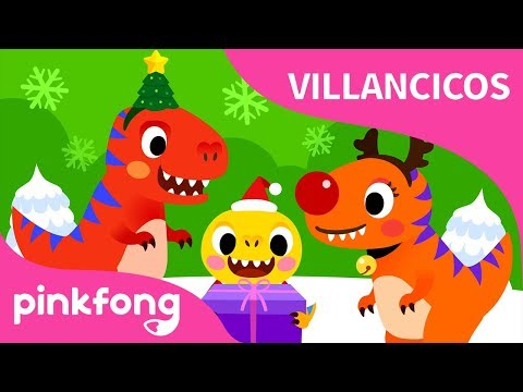 We Wish You a T-Rexmas | Villancicos de Navidad | Pinkfong Canciones Infantiles