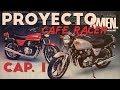 Kawasaki Kz550   Cafe Racer Restauración Part1