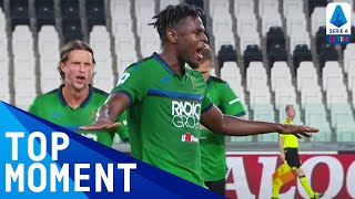 Zapata Fires In Well Worked Goal | Juventus 2-2 Atalanta | Top Moment | Serie A Tim