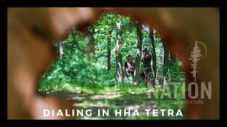 3D Archery Course - Dialing in the HHA Tetra Max Tournament Bow Site