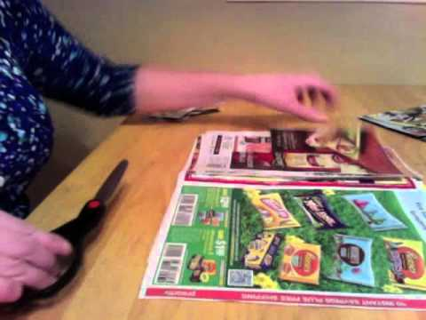 Cutting Coupons and Whispers ASMR