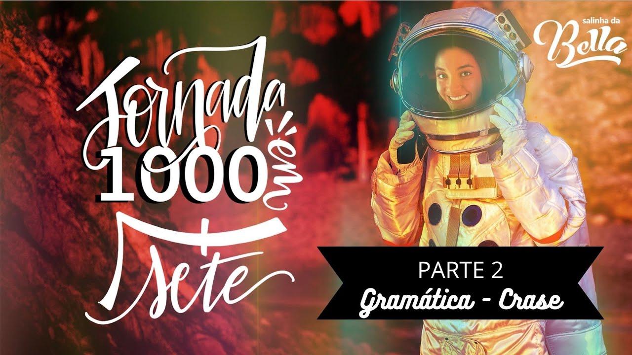 Live #06 Crase - parte 2 | Jornada Gramatical