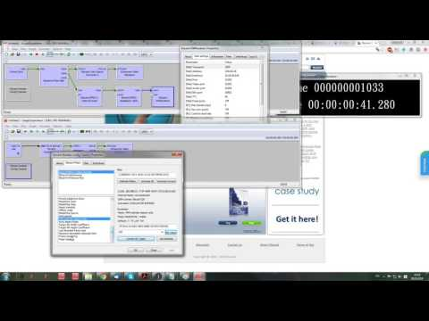 Low Delay MPEG2 Encoding and Streaming Receiving with Elecard Codec SDK components