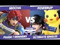 Pound 2019 SSBU -  Mocha (Roy, Falcon) VS  Powerup (Bayo, Pikachu) Smash Ultimate Phase 1 Winners