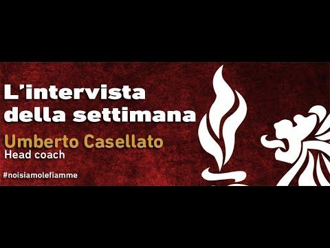 Intervista a Umberto Casellato, head coach delle Fiamme Oro Rugby